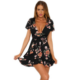 Summer Women's chiffon Dress
