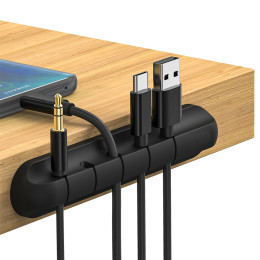 Silicone creative storage clamp
