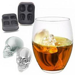 Skull Shape 3D Ice Cube Mold Maker