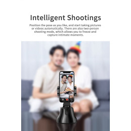 Auto Smart Shooting 360° Face Object Tracking Selfie Stick Tripod Smartphone Holde