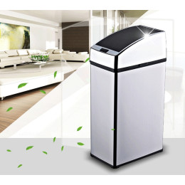 Stainless Steel Automatic Trash Recycle Motion Sensor Waste Bins
