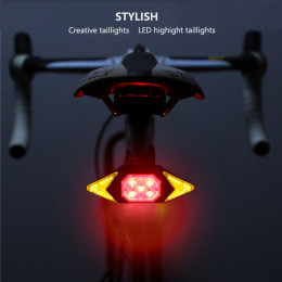 Smart bicycle light with remote control