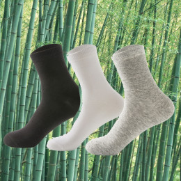3Pair or 6Pair Men's Bamboo Socks
