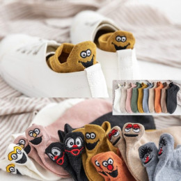 Women Embroidered Cartoon Socks