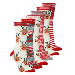 5Pair Christmas Funny Socks