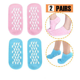 2pairs/Pack Wellbeing Moisturising Socks