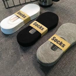 5Pair/Pack Men's socks deodorant sweat-absorbent cotton men's boat socks