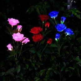 Solar 5 head rose light