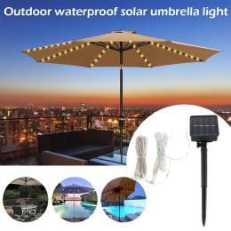 104 LED Solar Garden Umbrella Light