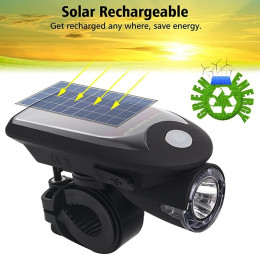 Solar Energy Bicycle Light