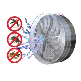 Solar Buzz Mosquito Kill Zapper Killer UV Lamp Light