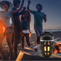 Unique Fire Flame Atmosphere Bluetooth Speaker