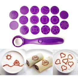 Magic Spice Spoon Food Decorating Tools 16 Different Images Coffee Decor