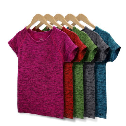 5 Colors Women Yoga Shirt for Fitness