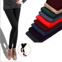 Spring and autumn women's seamless one-piece brushed leggings