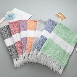 Square soft beach towel