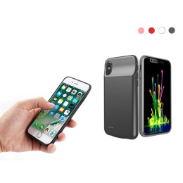 Back Clip Battery Charger Case Power Bank For iPhone