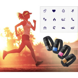 M4 Bluetooth Smart Band Fitness Tracker