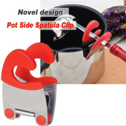 Stainless steel pot side clamp