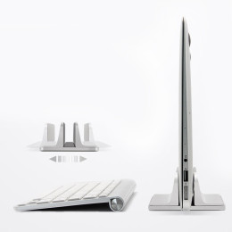 Aluminum alloy laptop vertical stand