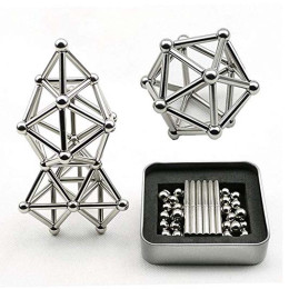 Magnetic stick puzzle set
