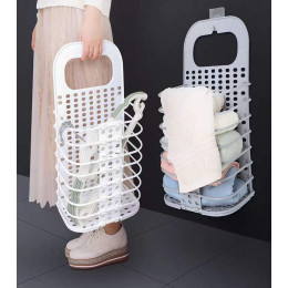 Folderable Dirty Clothes storage basket,space saving and easy to carry