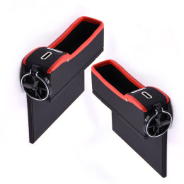 PU Leather Seat Side Storage Box