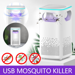 Energy-saving suction type mosquito killer for household mosquito lamp