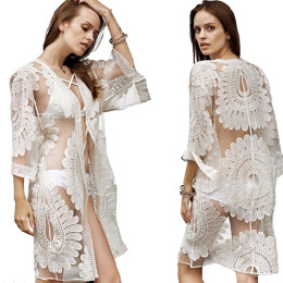 Sexy Lace Women Beach Dress
