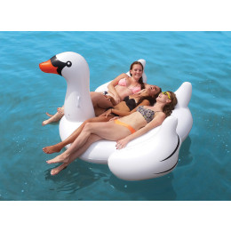 60inch Giant White Swan Inflatable Boat
