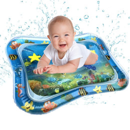 Baby Play Water Mat Inflatable Infants Tummy Time Playmat