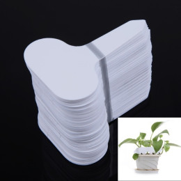 100pcs/set T-type Plastic Nursery Tag