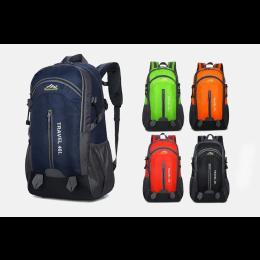 40L unisex waterproof men backpack travel pack