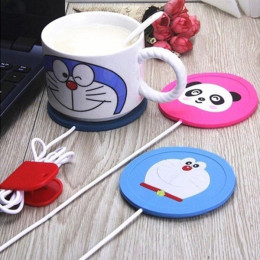USB Power Suply Office Tea Coffee Cup Mug Warmer Heating Cup Mat