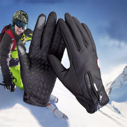 Windproof Thermal Touch Screen Gloves