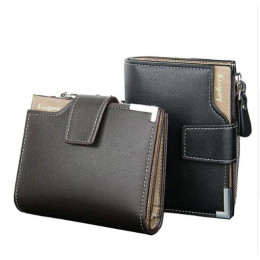 Baellerry PU Leather Men Wallets
