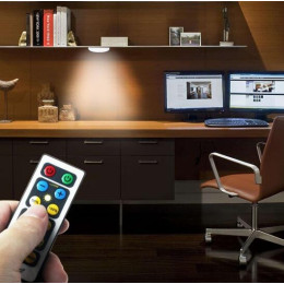 Wireless Cabinet Night Light With Remote Control