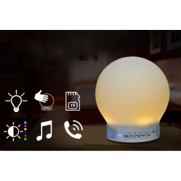Smart Wireless Bluetooth Light Lamp Speaker