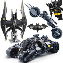 Decool 7105 7116 Comaptible Legoing Batman Tumbler Movies Figures Batpod Batmobile Set Building Blocks Kids Toys Technic Bricks