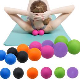 TPE Fascia Ball Lacrosse Muscle Relaxation Yoga Peanut Massage Ball
