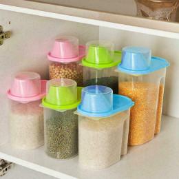 transparent food storage box