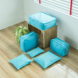 Travel storage six-piece set