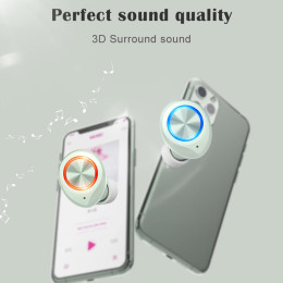 TW70 Mini Wireless Bluetooth 5.0 TWS In-Ear Earbuds Earphones
