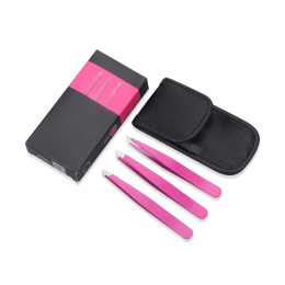 3PCS/SET of Eyebrow Tweezer