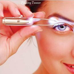 Led eyebrow tweezers