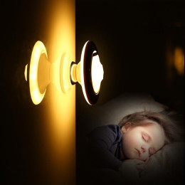 UFO LED Motion Sensor Night Light