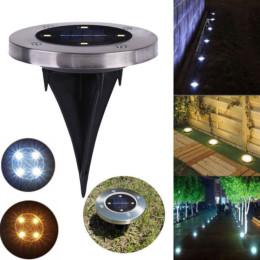 4pcs 4LED solar underground lights