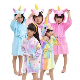 Kids' Rainbow Unicorn Bathrobes