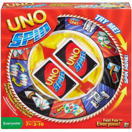 UNO SPIN family gathering board game