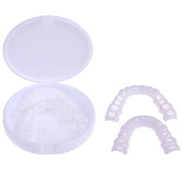 Upper and lower teeth whitening set smile braces